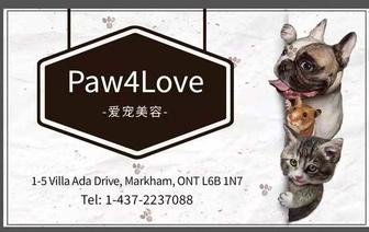 Paw4Love爱宠美容