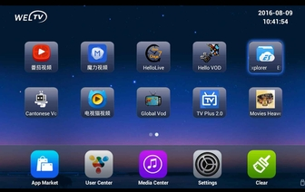 WELTV中文电视盒